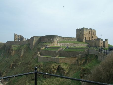 Tynemouth_Castle and Priory